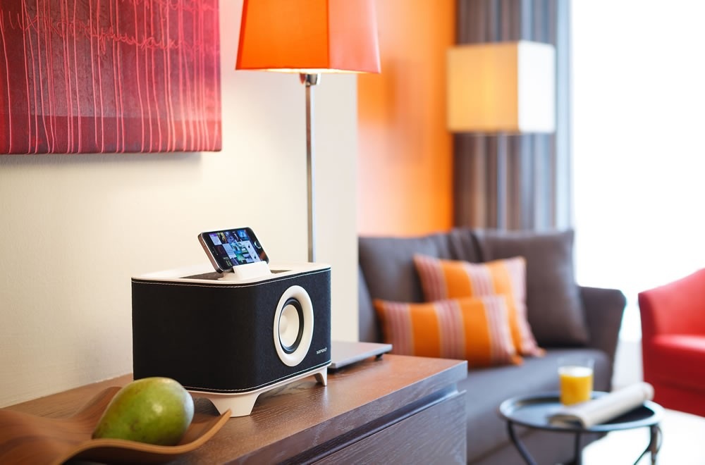 Docking Stations in jedem Zimmer
